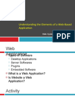 Elements of Web Based Application