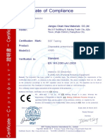 Chinese certificate of compliance 1