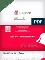 Sesión 6 - Marco Teórico
