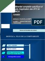 Module 2  PLAN DE LA COMPTABILITE CLASSE 1