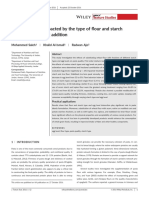 Pasta quality as impacted by the type of flour and starch and the level of eg