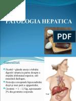 Curs 1 - PATOLOGIA HEPATICA