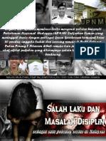 SALAH LAKU & MASALAH DISIPLIN