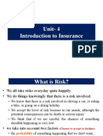 Unit- 4 Introduction to Insurance