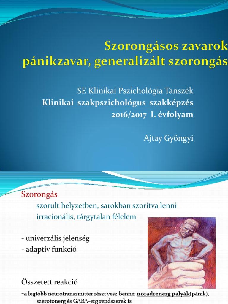 okozhat generalizált szorongásos rendellenességet fogyást)