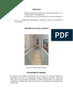 Lab estudio del coeficiente de friccion en canales