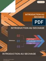 Cours Sechage - Chapitre 1