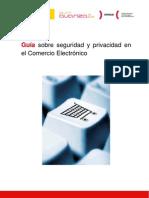 Guía sobre seguridad y privacidad en el Comercio Electrónico