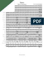 Dario Marcia Caratteristica-Partitura e Parti