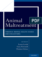 Animal Maltreatment_ Forensic Mental Health Issues and Evaluations-Oxford University Press (2015)