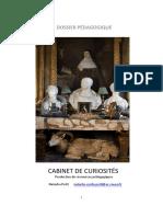 Dossier - Cabinet de curiosités
