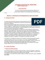 Plan de l'introduction de La Fontaine