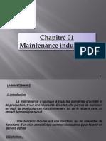Généralités  sur la maintenance industrielle
