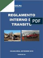 Reglamento Interno Transito SMEB V4(Vigente)