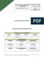 PR-TI-SDK-001 PROCEDIMIENTO SERVICE DESK