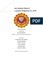 Case Analysis Study