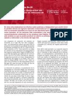 Nota Macroeconómica Universidad de Los Andes