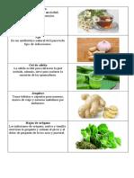 medicinas naturales y quimica