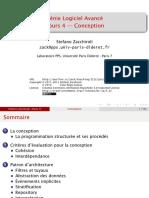 Génie Logiciel Avancé Cours 4 — Conception - Stefano Zacchiroli.pdf