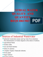 INDUSTRIAL WATER QUALITY AND QUANTITY REQUIREMENTS.pptx