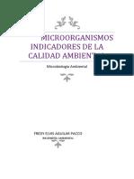 Microorganismos indicadores