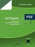 DaF-Begleiter C1 by Roswitha Lindner-Übungsbuch Schriftlicher Ausdruck Textproduktion