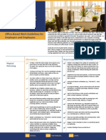 Offices Summary Guidelines