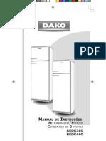 Manual Geladeira DAKO