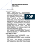 DECLARATORIA DE ESTADO DE EMERGENCIA Y AMPLIACIONES -- ESTADO SANITARIO 2