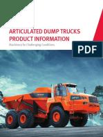Produkt Information Articulated Dump Truck Doosan Moxy