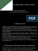 Teología del sufrimiento - Lecc. 03 - 2020
