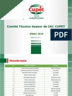 CTAIAC CUPET ENIAC 2019
