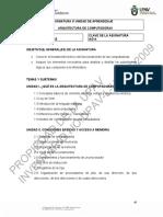 301 ARQUITECTURA DE COMPUTADORAS