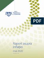BNR Raport Inflatie Mai 2020