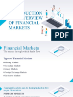 Ch1.Introduction and Overview of Financial Markets