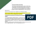 Ejemplo para describir muestras de minerales opticos