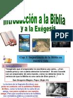 1. Tema 1 Importancia Biblia en nuestra vida ext