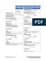 Microsoft Word - Module 1 Cheat Sheet Updated