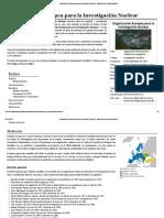 Organización Europea para la Investigación Nuclear - Wikipedia, la enciclopedia libre
