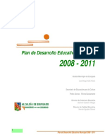 PLAN DE EDUCACIÓN MUNICIPAL