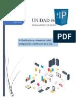 UNIDAD 6 REDES DE COMPUTADORAS