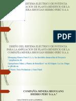 Diseño del sistema eléctrico de potencia para la.pptx
