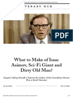 What to Make of Isaac Asimov, Sci-Fi Giant and Dirty Old Man_ _ Literary Hub