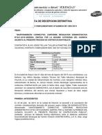 ACTA DE RECEPCION PROVICIONAL ejemplo