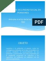 SISTEMA DE SEGURIDAD SOCIAL EN PENSIONES B 2014