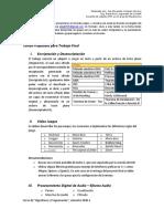 Temas Propuesto para Trabajo Final
