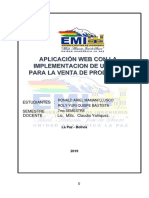 Proyecto Sistema Web