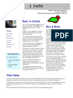 3 Faith Ist Issue Newsletter 2011