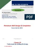Drilling Bit Design