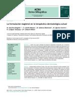 Formulario magistral dermatología
